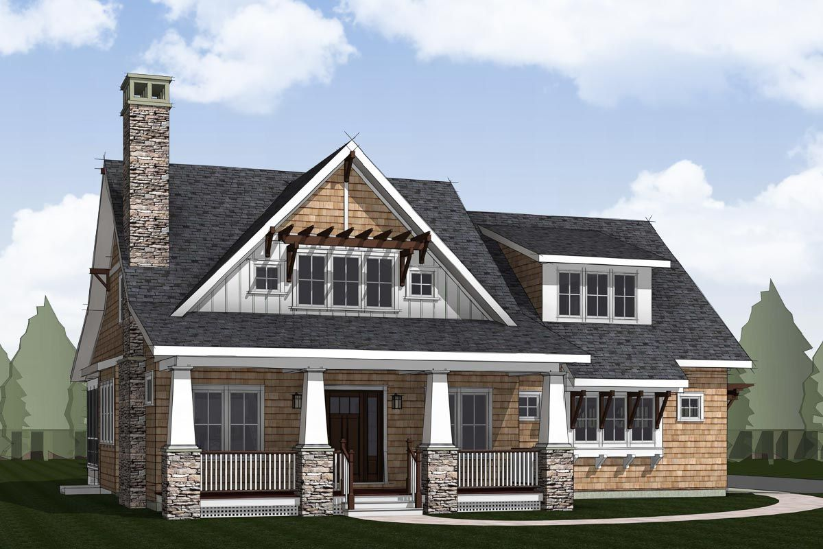 Plan 18303be Craftsman House Plan With 3 Car Side Entry Garage In 2021 Craftsman House Craftsman Style House Plans Craftsman House Plan