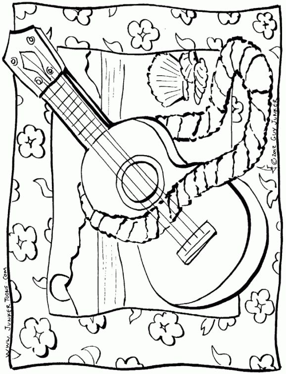 The Song That Reduces Stress By 65 Percent Beach Coloring Pages