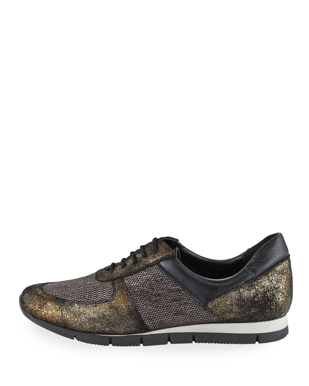 competitive price 96515 693da Sesto Meucci Candy Metallic Trainer Sneaker
