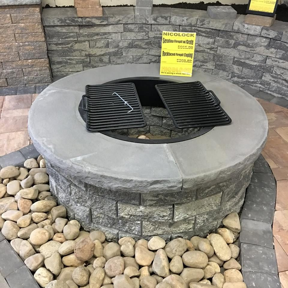 Nicolock Firepit Kit Perfect For Those
