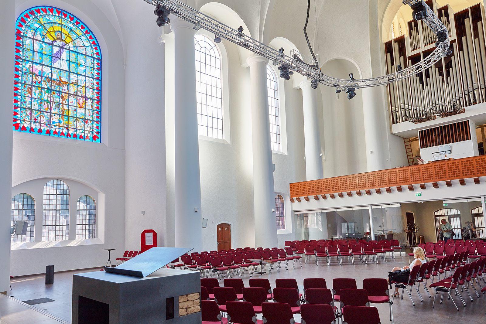 Künstler In Essen ev kreuzeskirche in der altstadt mitte in essen deutschland