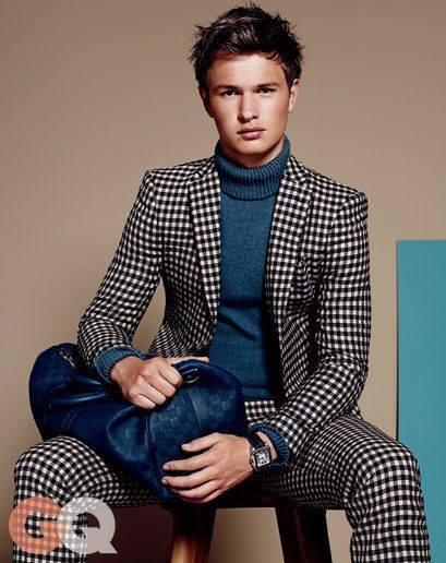 Ansel Elgort in What to Wear Next: Fall Fashion Preview 2014 | GQ