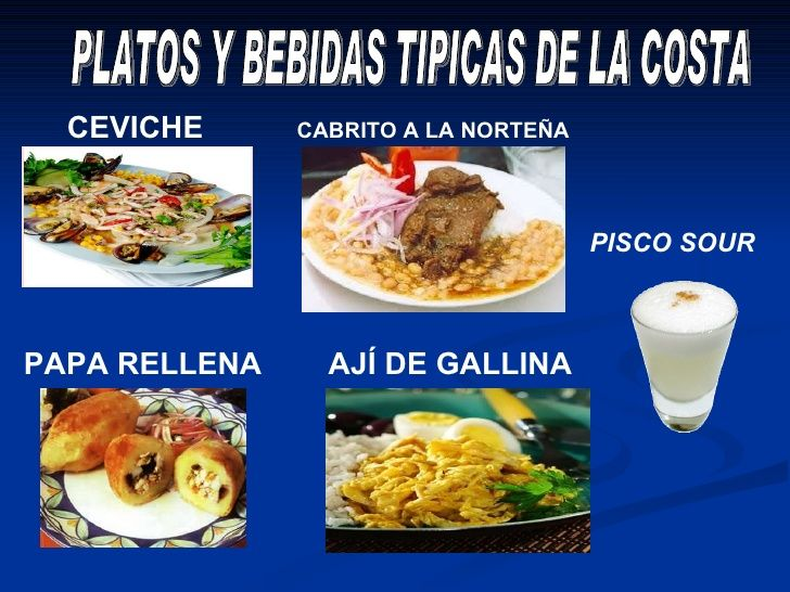 Las Regiones Del Peru 7 728 Jpg 728 546 Comida Costa Peruana
