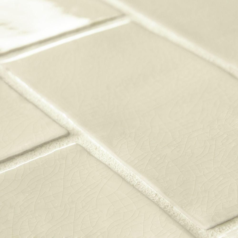 Merola tile antic craquelle white 3 in x 6 in ceramic wall tile 2 merola tile antic craquelle white 3 in x 6 in ceramic wall tile 2 sq ft pack wcvancwt the home depot dailygadgetfo Gallery