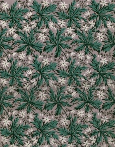 Wallpaper, 1800  National Library of France, Public Domain
