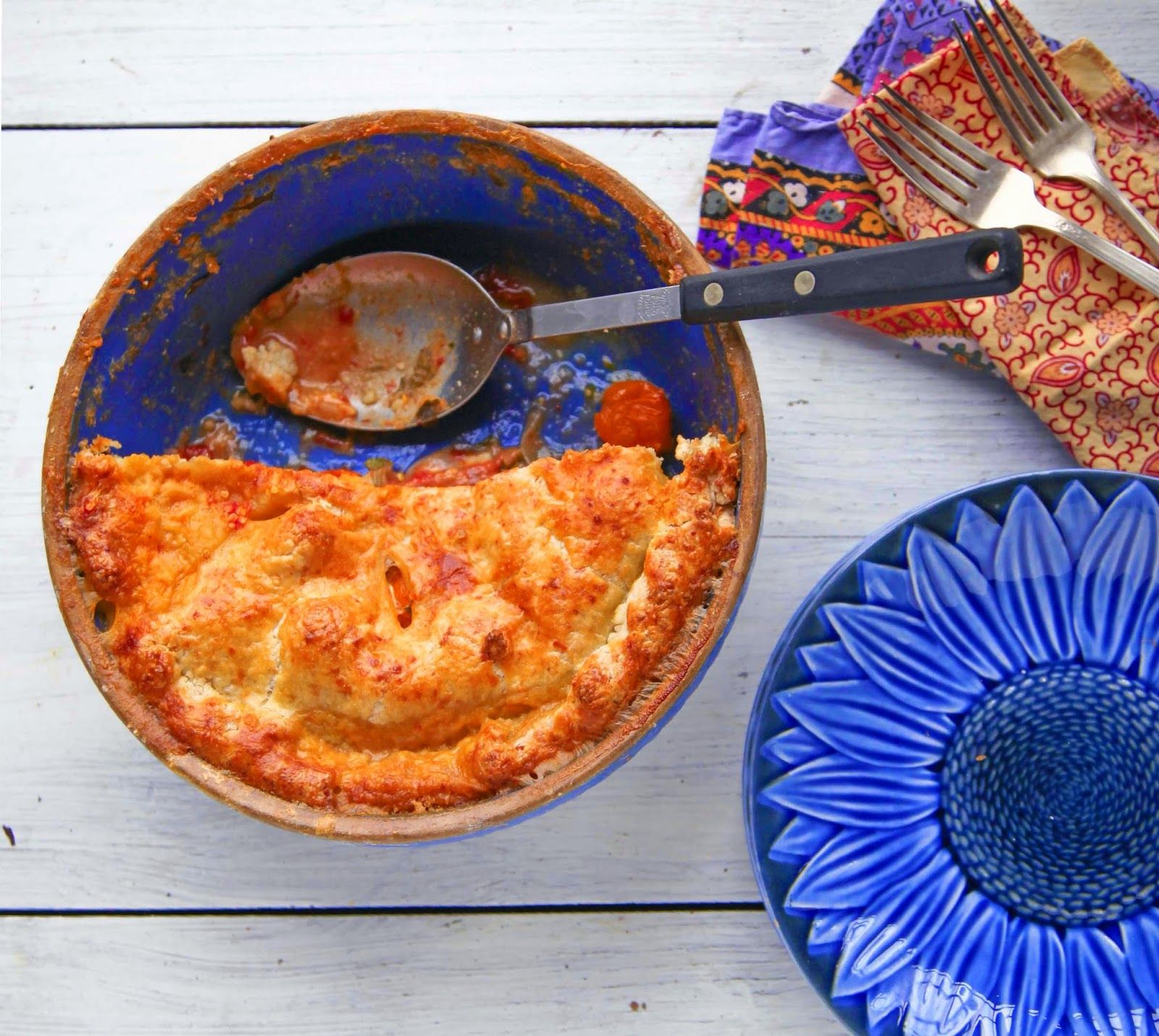 Recipe on Kristin Nicholas' blog Getting Stitched on the Farm: Tomato Pie - A Delicious Recipe for Late Summer