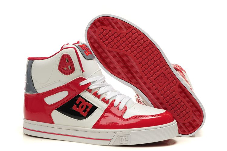 Red DC Shoes men | Shoes :: DC Spartan High Tops :: Cheap DC