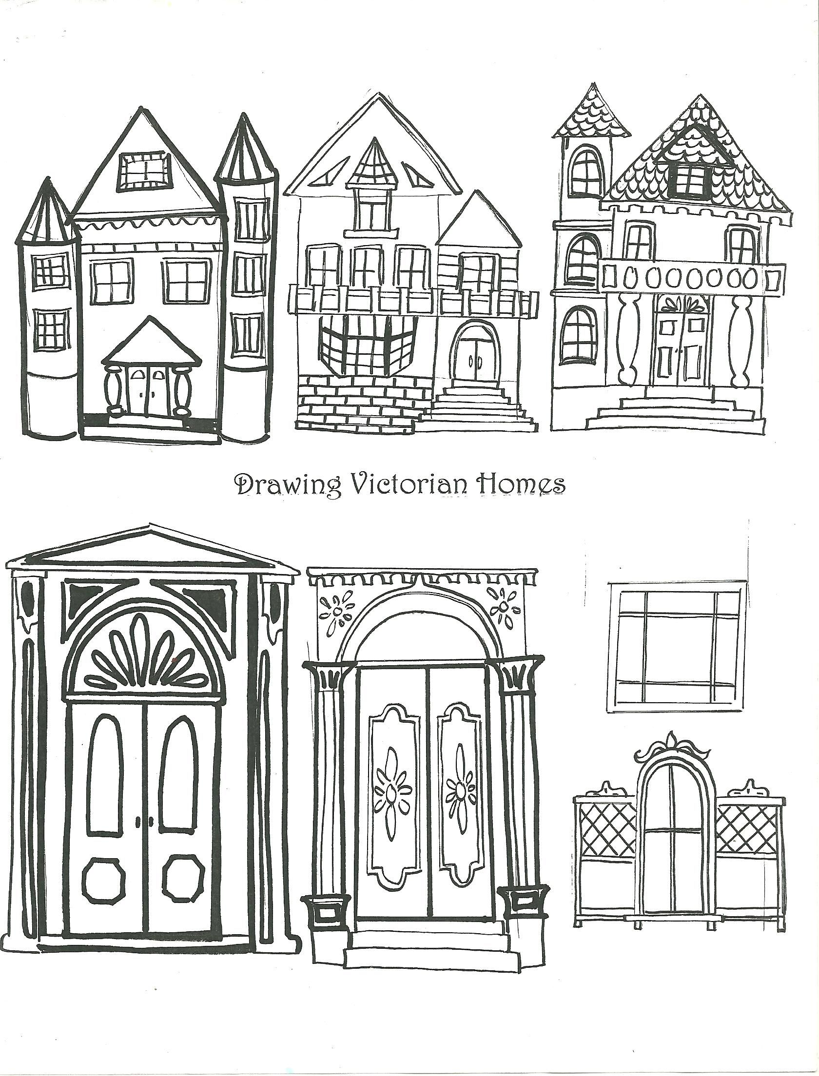 examples of victorian homes handout     art element shape