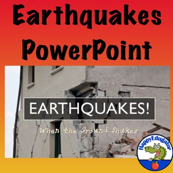 Earthquakes PowerPoint Pinterest Chart, Students and Classroom