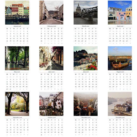 Calendar 2016 by D'Ilia