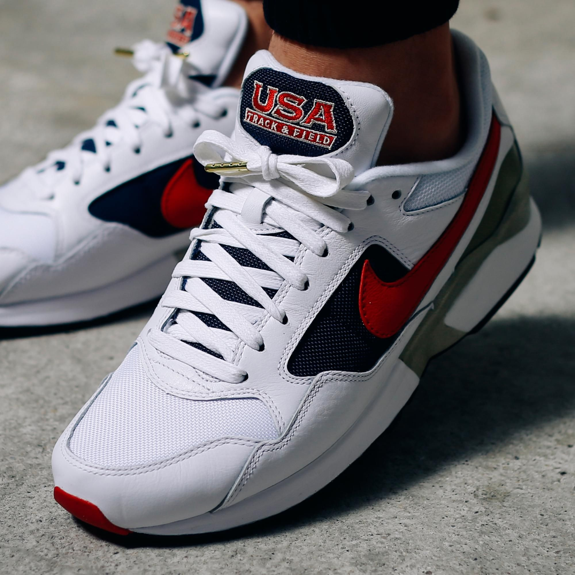 The Nike Air Pegasus '92 Olympic On-Feet • KicksOnFire.com