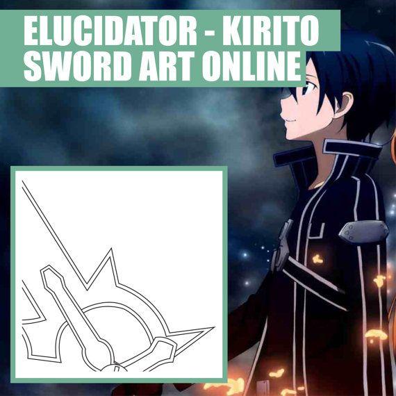 Elucidator - Kirito - Sword Art Online - Cosplay - Blueprint - new blueprint gun art
