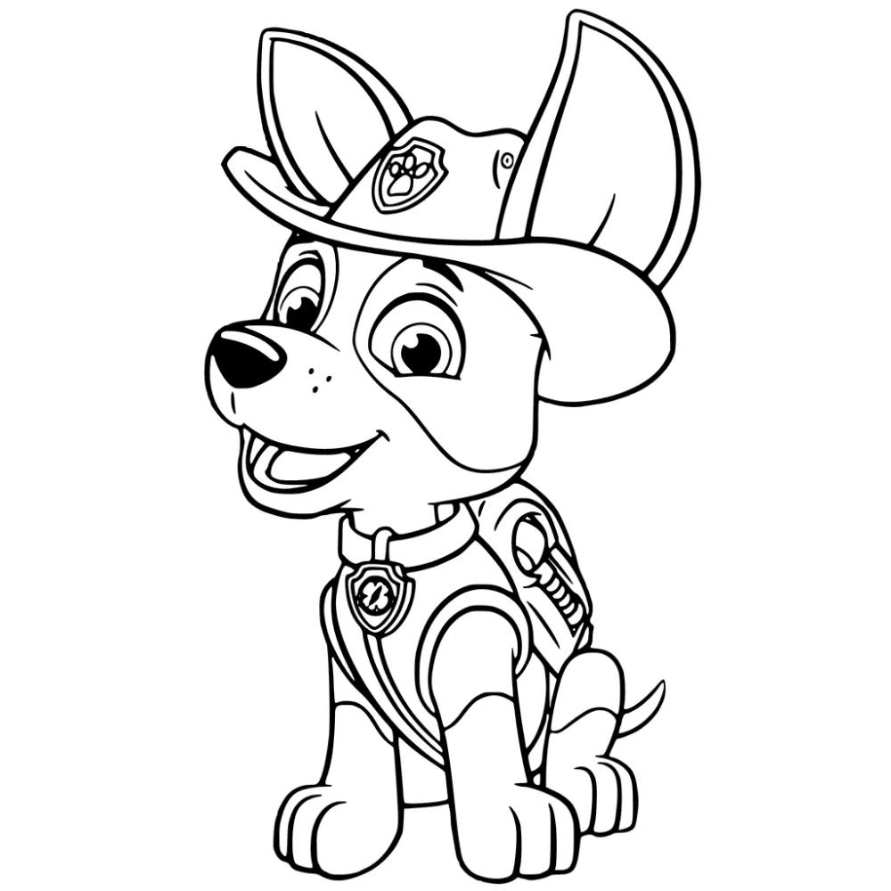 50 Desenhos Da Patrulha Canina Para Colorir E Imprimir Patrulha