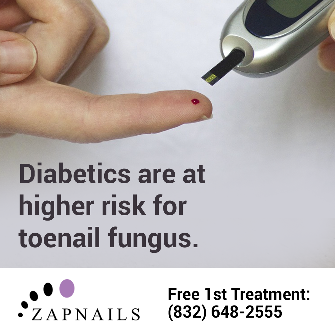 Did you know that diabetes increases your risk for toenail fungus ...