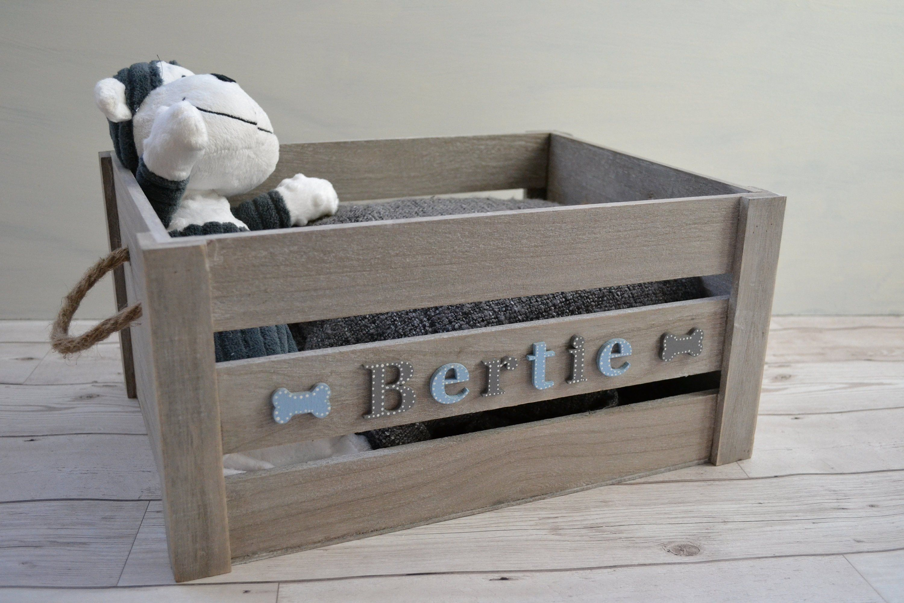 Dog Toy Box Dog Storage Crate Dog Christmas Gift Pet Toy