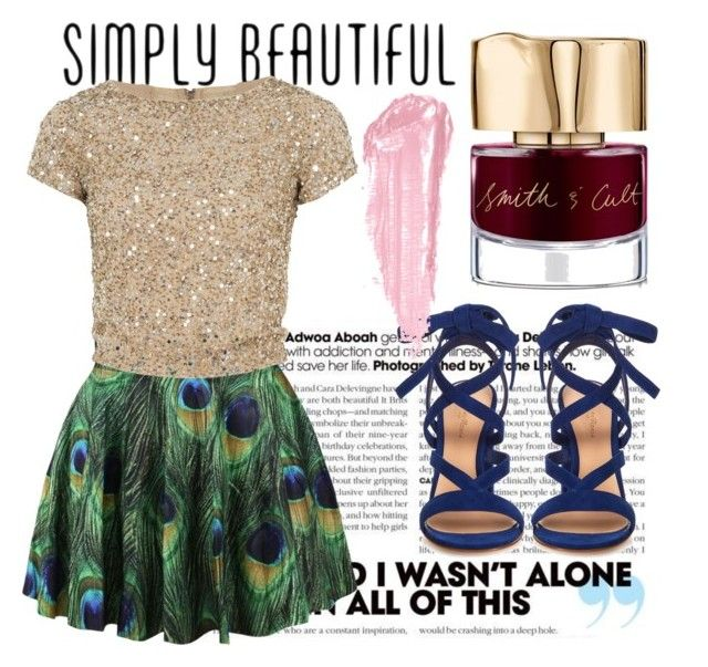 """""""Take Me Out"""" by zeebaby on Polyvore featuring Smith & Cult, Gianvito Rossi, By Terry and Alice + Olivia"""