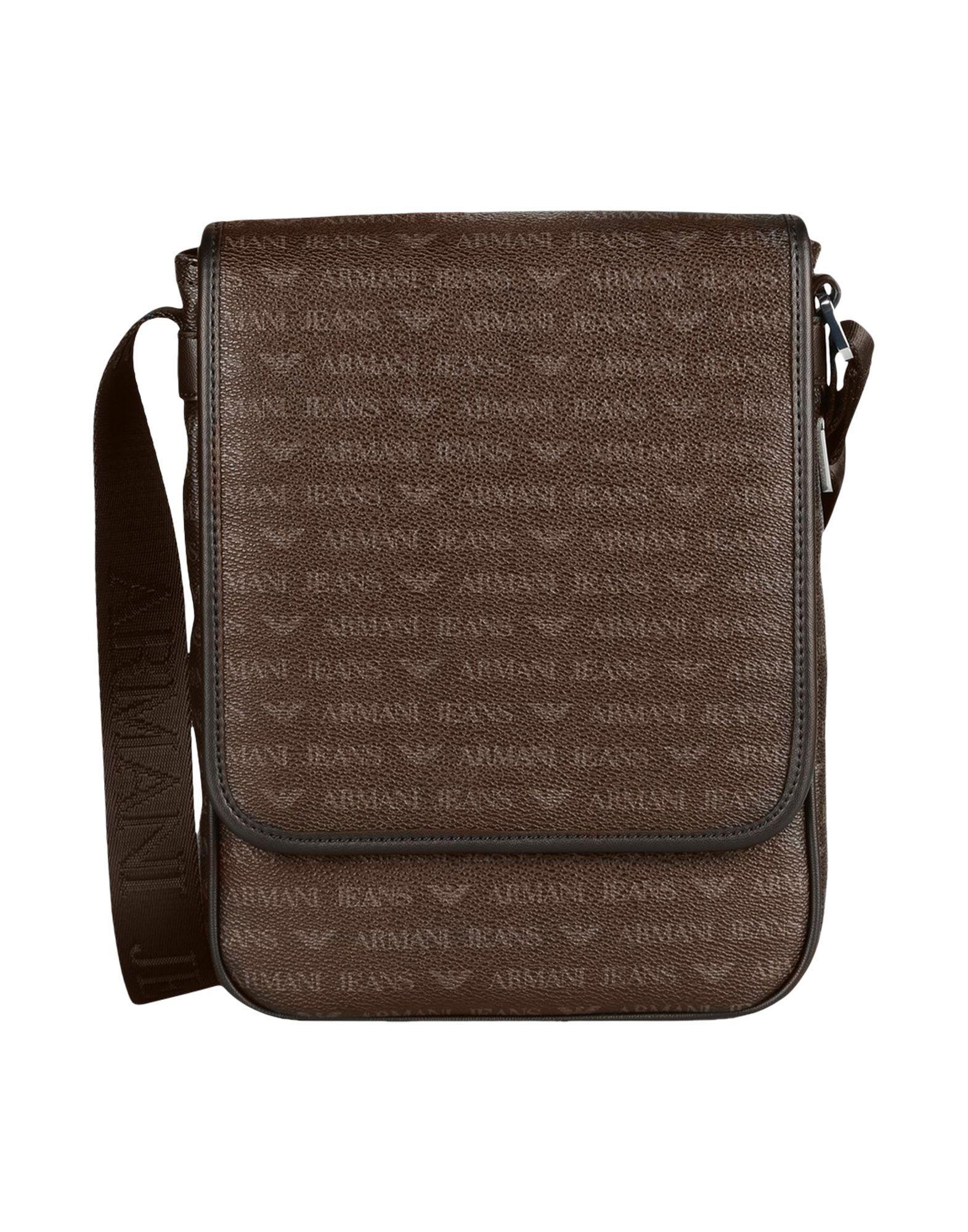 96137bdc2992  armanijeans  bags  shoulder bags  leather  pvc  denim