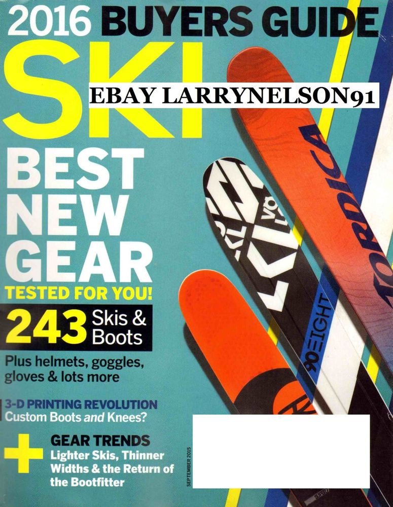 ski magazine september 2015 best new gear 2016 buyers guide 3 d rh pinterest com buyers guide ski magazine ski magazine buyers guide 2017