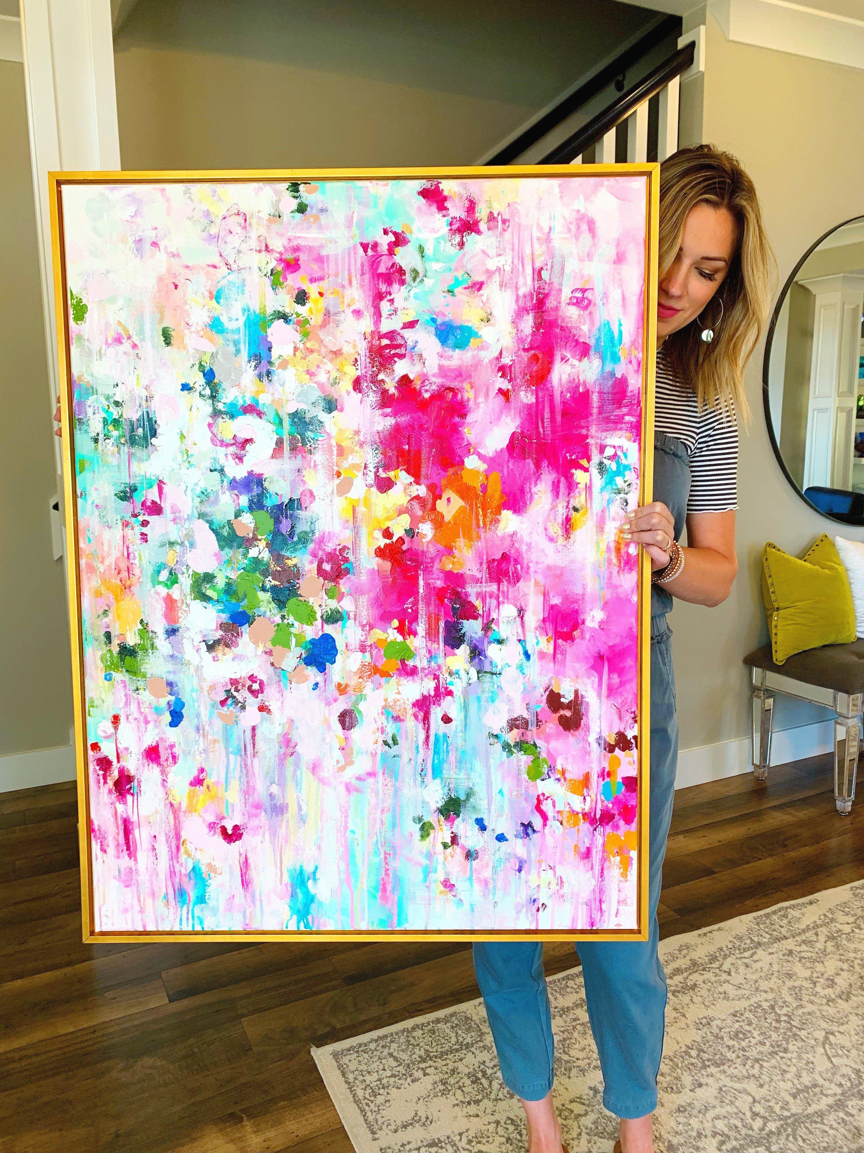 Was Auch Immer Es Nimmt 30x40 Abstract Art Diy Abstract Painting Acrylic Abstract Art Painting