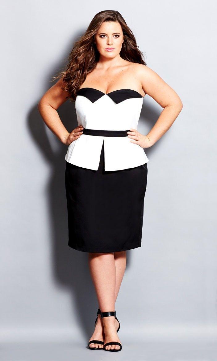 f39cb0e9847 Women s Plus Size Tuxedo Dress