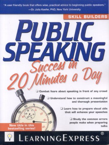 Public Speaking Success in 20 Minutes a Day | Teacher