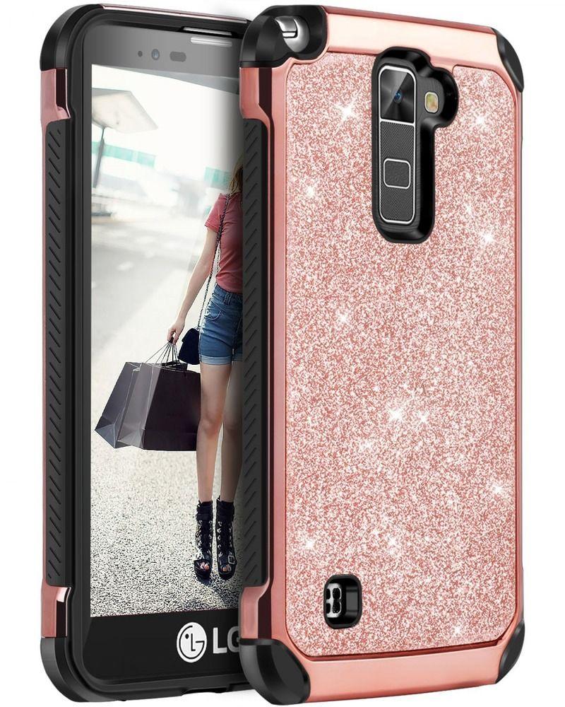 BENTOBEN LG Stylo 2 Case LG Stylus 2 Case Glitter Bling Luxury 2 in1 Hybrid USA  | eBay