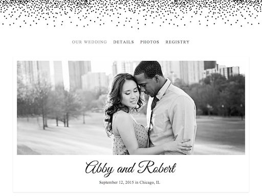 Free Personalized Wedding Website Builder The Knot