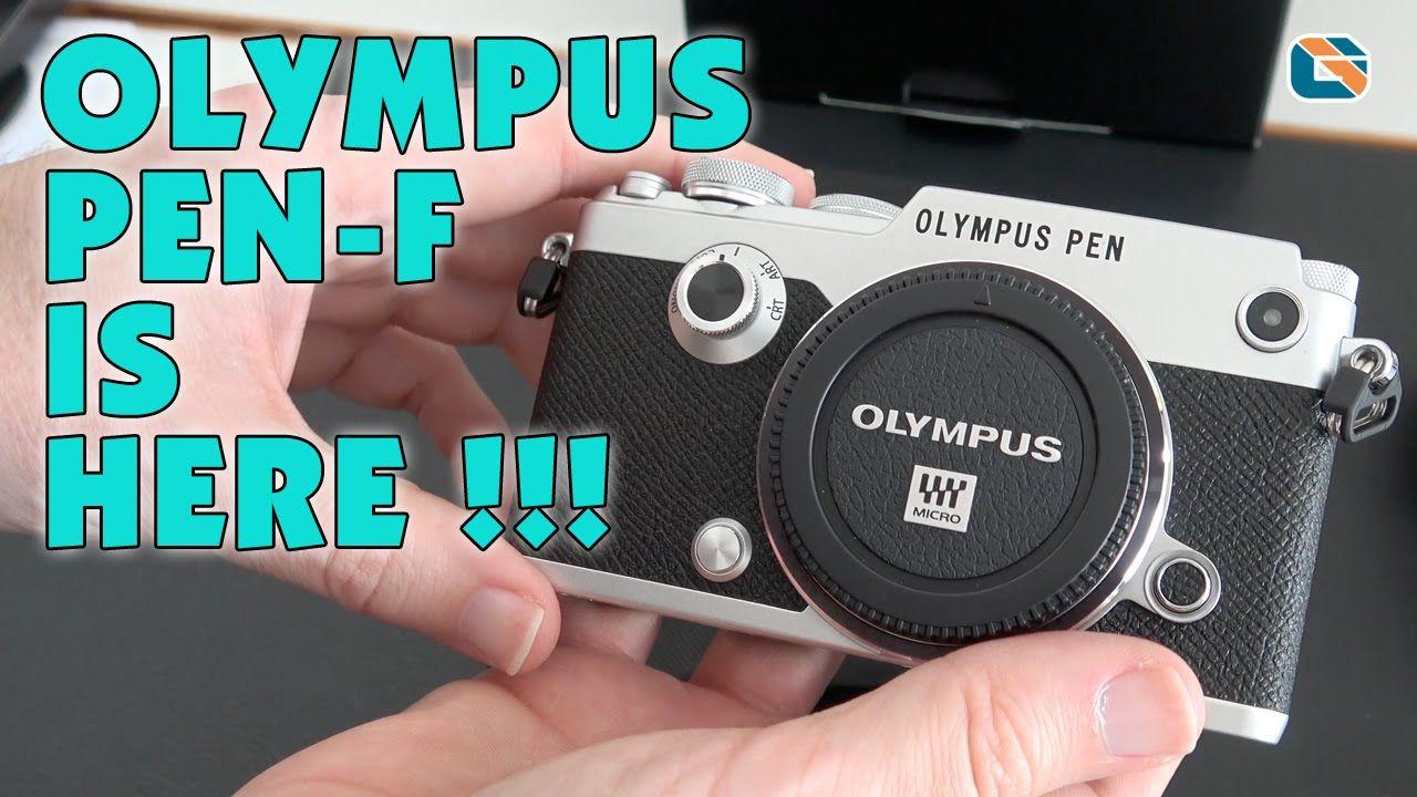 Olympus PEN-F & ECG-4 Grip Unboxing & First Look