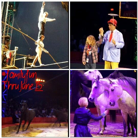 We really loved being so close all the performers at the @Big Apple Circus