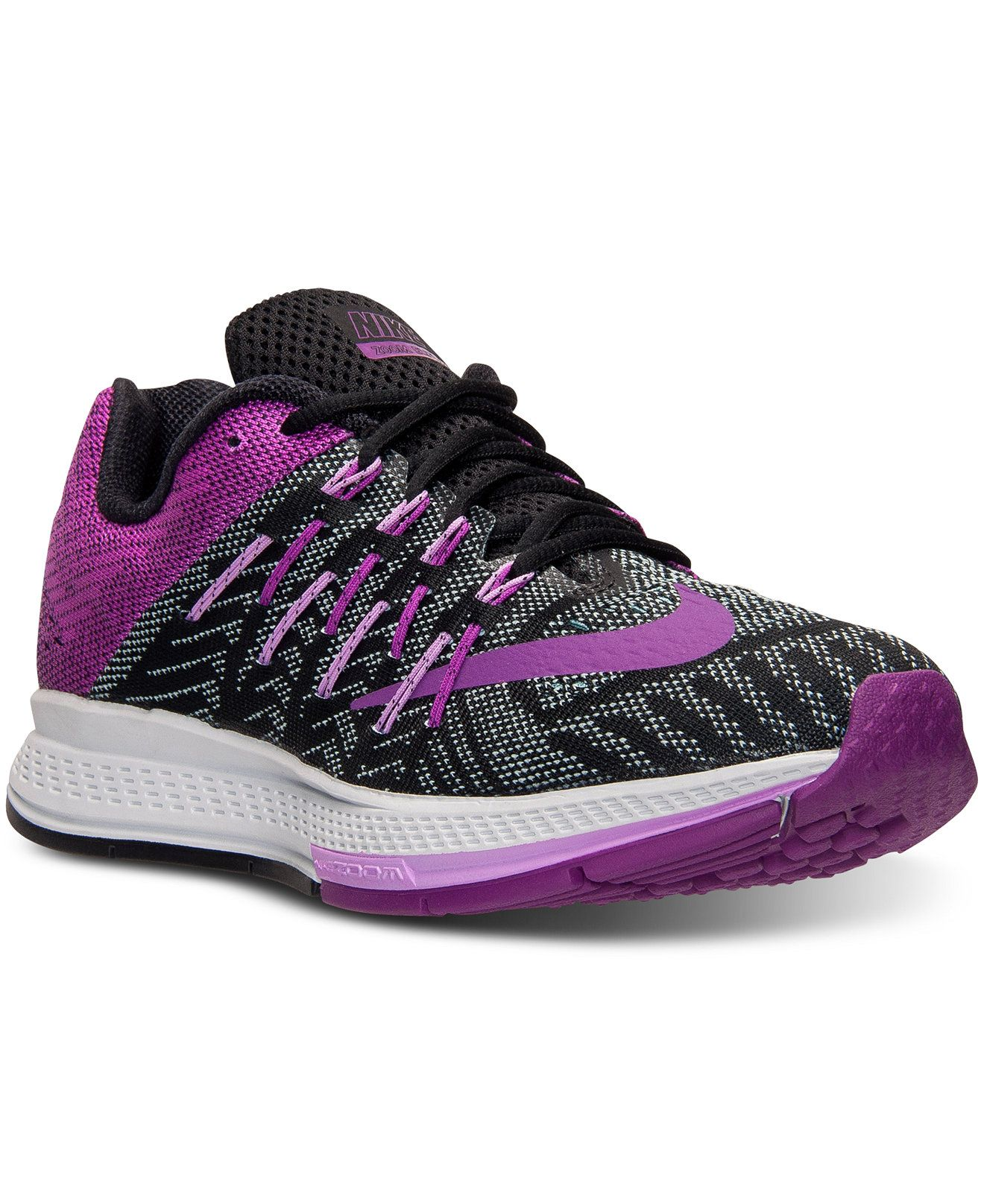 hot sale online c9e9b 23e92 Nike Women's Air Zoom Elite 8 Running Sneakers from Finish ...