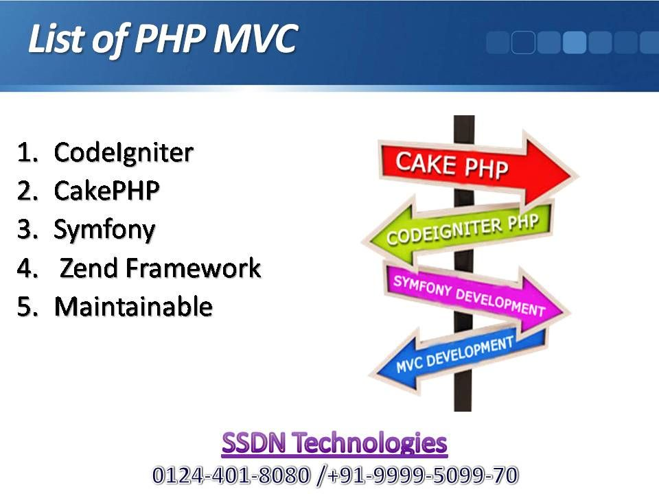 Ssdn Technologies Offers Php Training And Certification Training