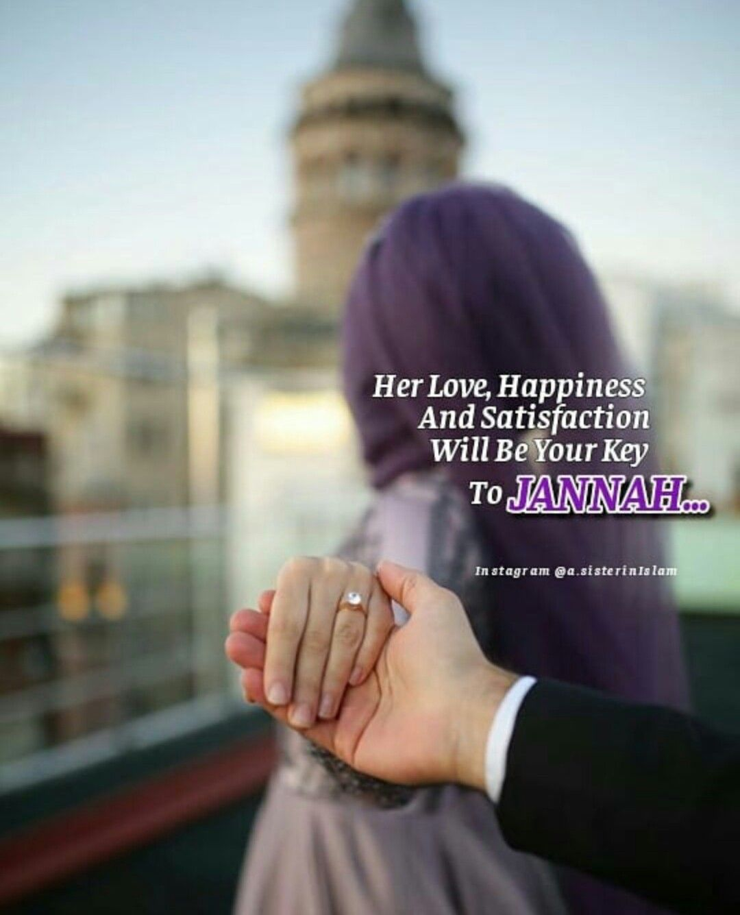 He Is Her Door To Jannah And She Is The Key That Opens The -5679