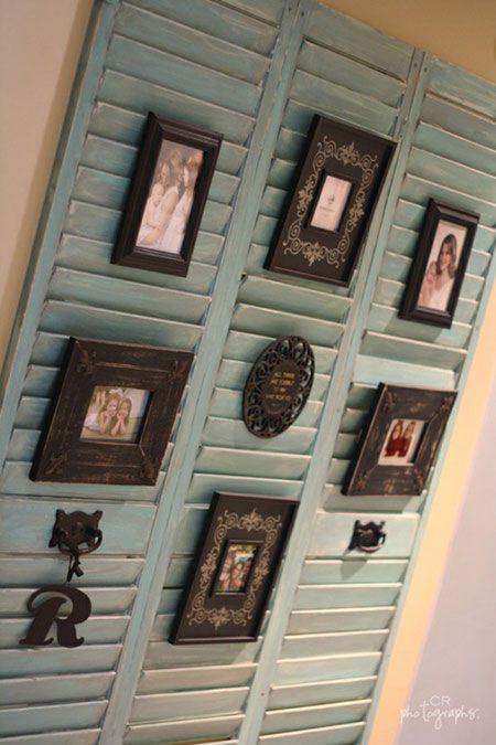 Cheap Decorating Ideas On Thrifty Thursday Week 5 Shutter Decor Home Diy Shutters Repurposed