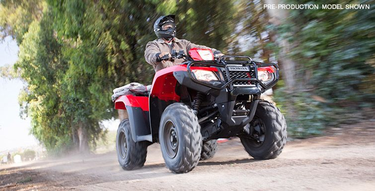 2016 Honda FourTrax Foreman Rubicon 4x4 EPS (With images