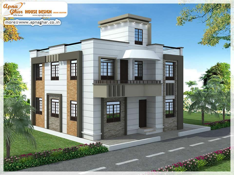 Independent floors.Click on this link (http://www.apnaghar.co.in/pre-design-house-plan-ag-page-63.aspx) to view free floor plans (naksha) and other specifications for this design. You may be asked to signup and login. Website: www.apnaghar.co.in, Toll-Free No.- 1800-102-9440, Email: support@apnaghar.co.in