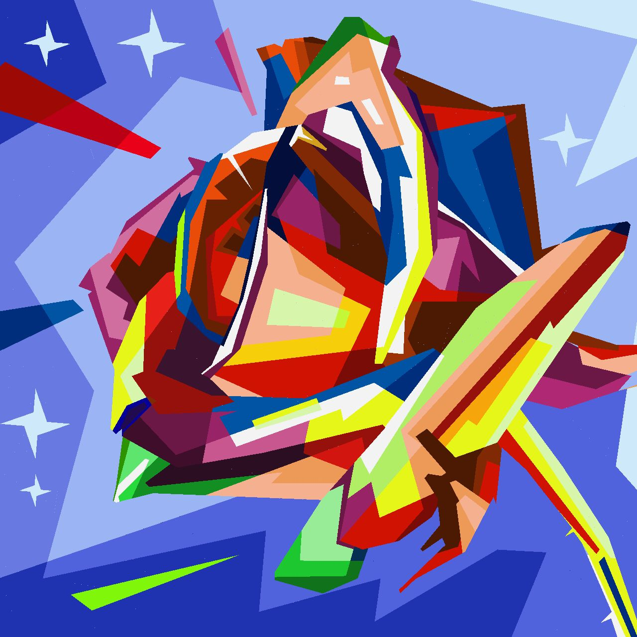 Hey, look what I've drawn with Idle Painter https//itunes