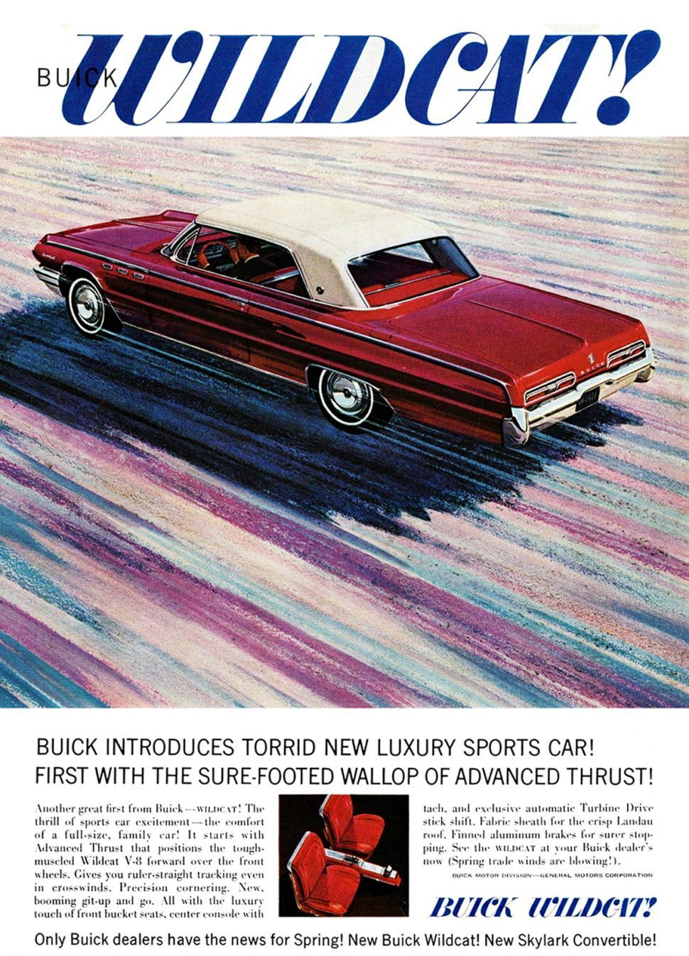 Buick lets a Wildcat loose for 1962 Buick wildcat, Buick