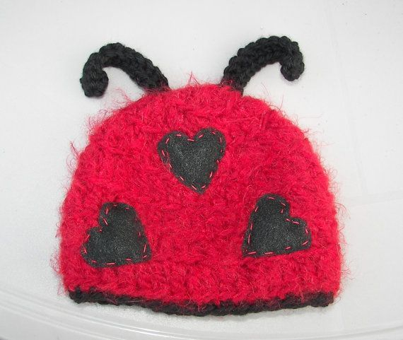 Lady Love Bug Hat perfect for valentine s day by mandag433 on E ... babda0111042