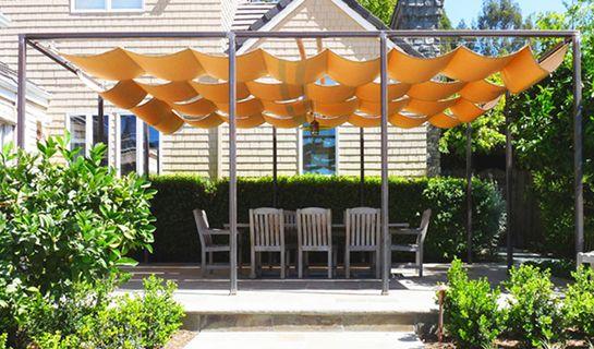 22 Easy Diy Sun Shade Ideas For Your Backyard Or Patio Backyard Shade Outdoor Shade Shade Sails Patio