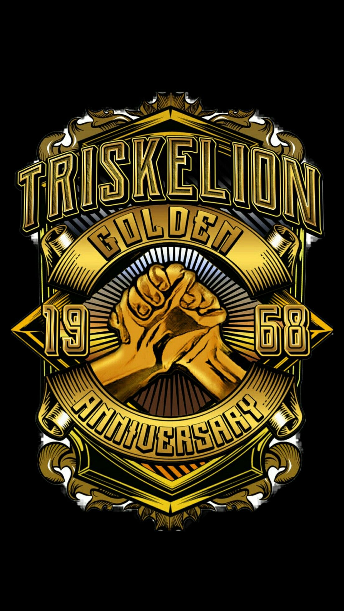 Triskelion Tau Gamma Wallpaper Gold 50 Android Iphone Deviant Art Tau Gamma Black Wallpaper Qhd Wallpaper