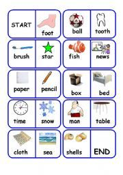 English worksheet: compound words dominoes