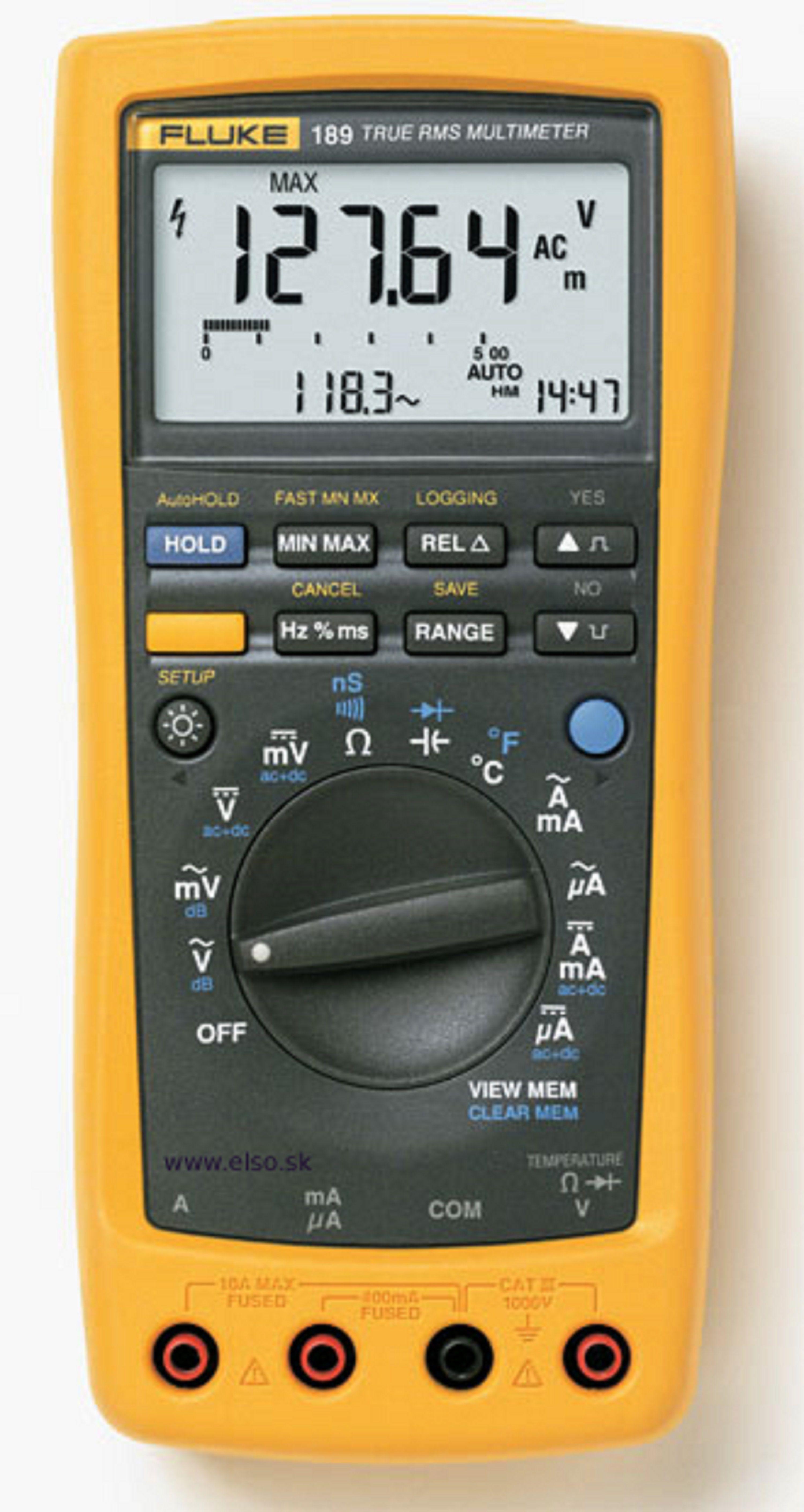 fluke 189 digital multimetr professional tech science diy rh pinterest com Fluke 189 Multimeter Fluke Multimeter 289