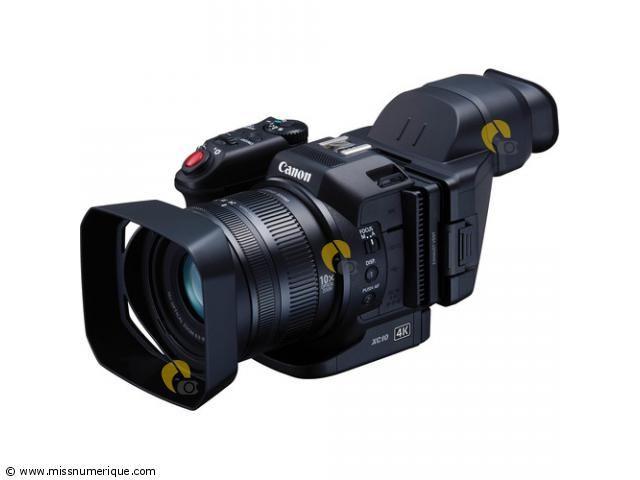 CANON caméra XC10 4K