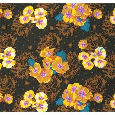 Anna Maria Horner Pretty Potent Fabric - Primrose - Golden