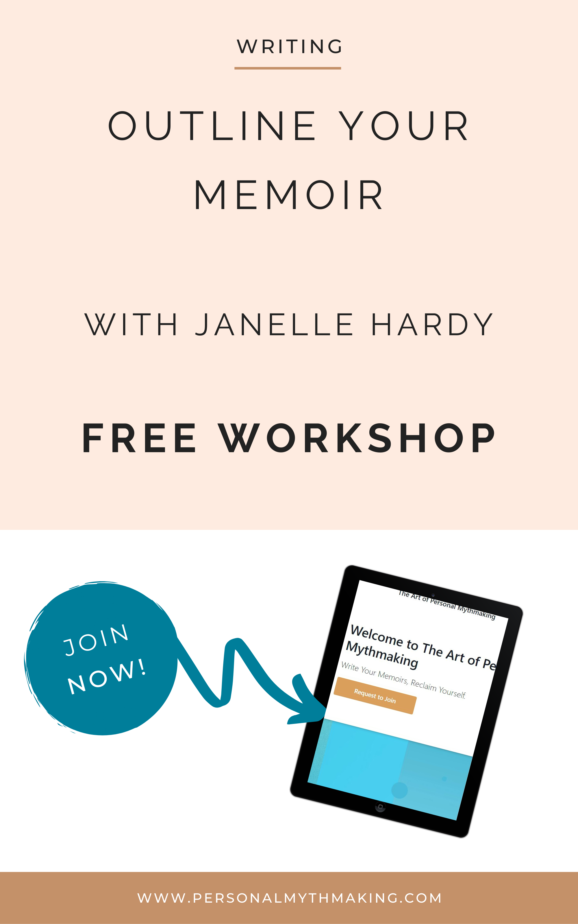 Outline your memoir free workshop  resources and tools for