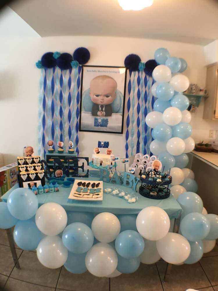 Boss baby Birthday Party Ideas in 2019 | zo 1st Birthday ...
