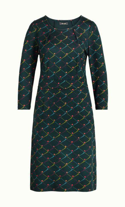 King Louie - Mona Dress Rizzle alpine green | Kleid und ...