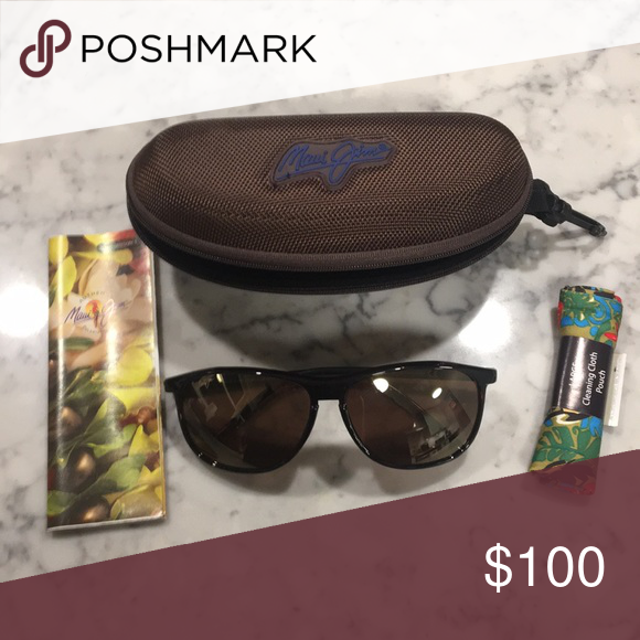 1b9201cd562 Maui Jim sunglasses Polarized Maui Jim sunglasses with cleaning cloth    case Maui Jim Accessories Sunglasses