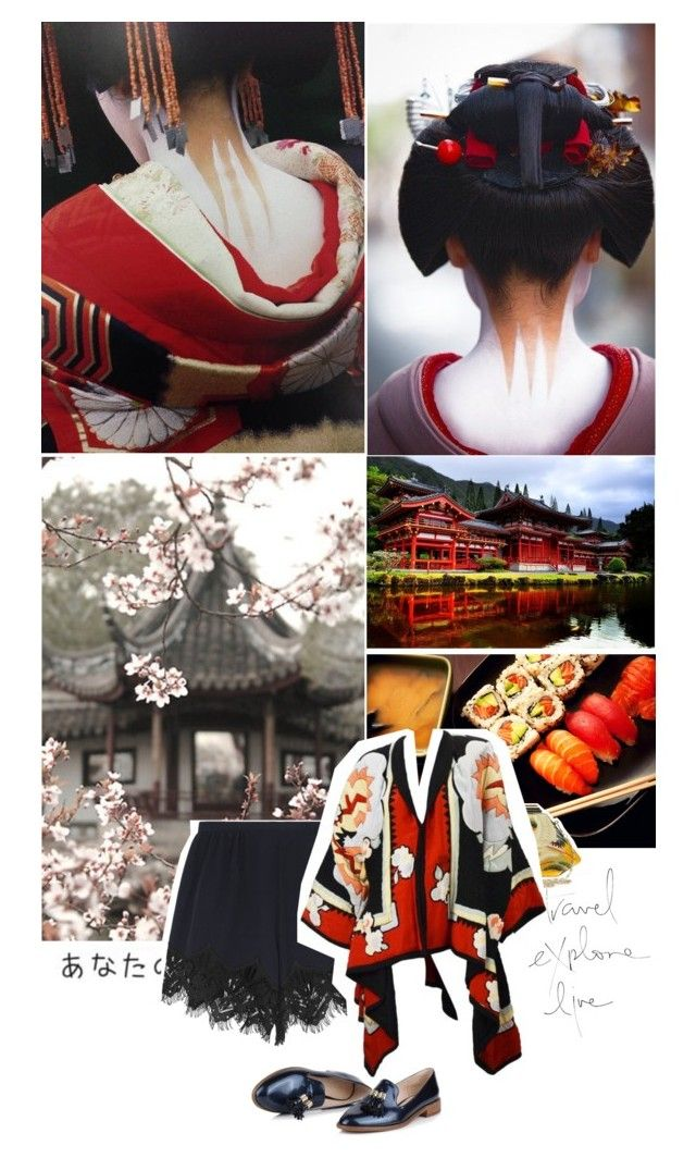 """let's travel - japan"" by mademoiselledeea ❤ liked on Polyvore featuring ASOS, Chloé, travel, casualoutfit, CasualChic and japan"