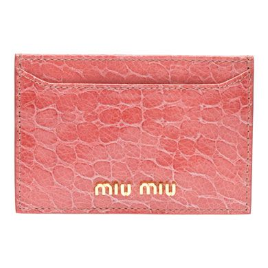 40144710f12 Miu Miu e-store · Accessories · Wallets · Credit Card Holder ...